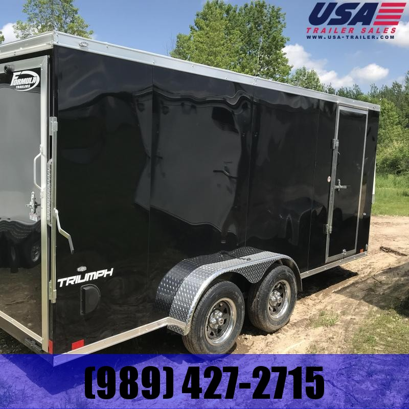 2020 Formula Trailers 7x14  Ramp +12 Enclosed Cargo Trailer