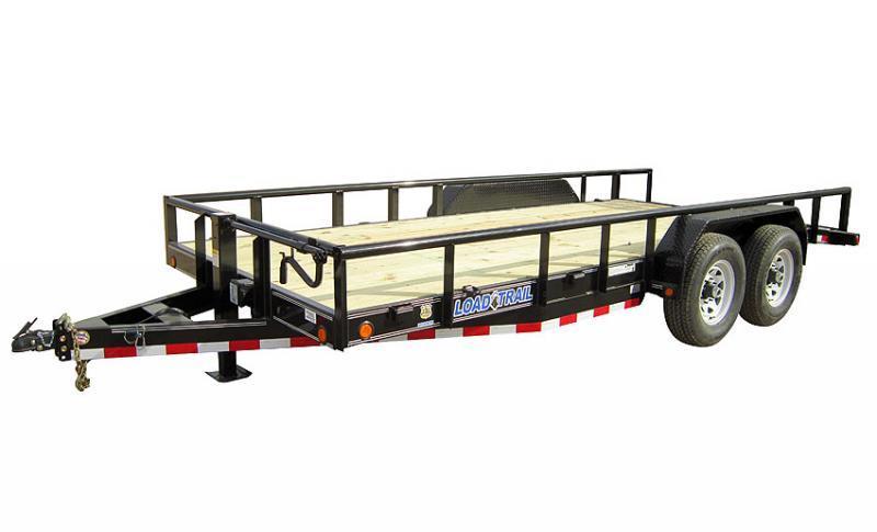 """2021 Load Trail 83"""" X 20' 14k Tandem Axle Carhauler"""