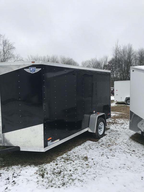 2019 MTI Trailers 6x12 Enclosed Cargo Trailer