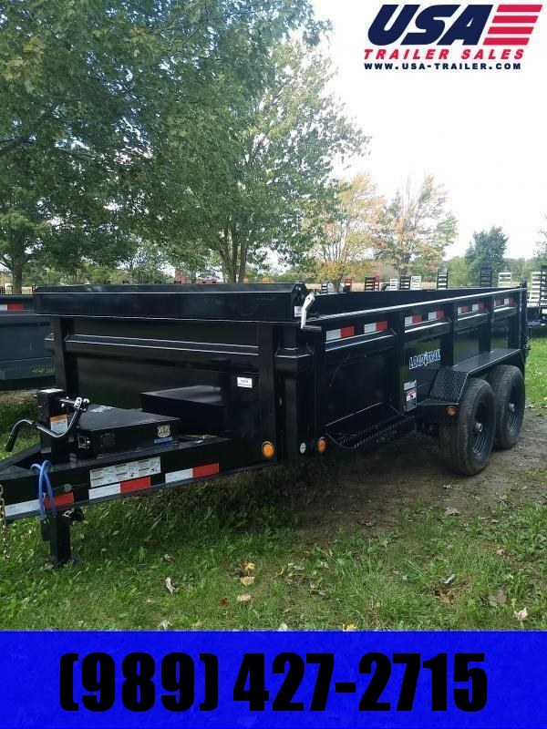 New 14' 14K Load Trail Dump Trailers The Bench Mark Of Quality