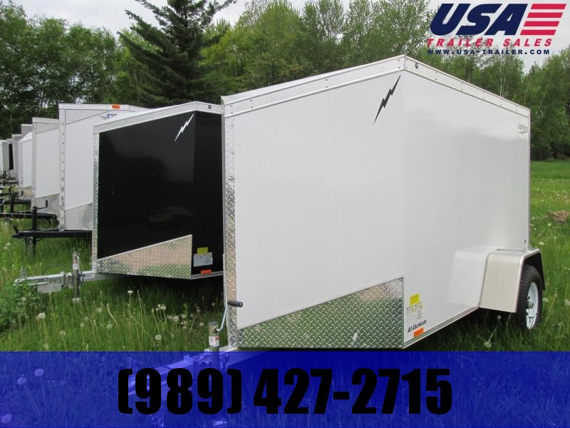 2020 Lightning Trailers 5x8 Enclosed Cargo Trailer
