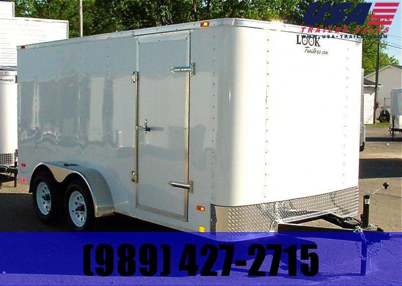 Enclosed Cargo Trailer 7X16