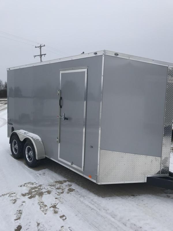 2020 Formula Trailers 7x14  Ramp +12 Enclosed Cargo Trailer