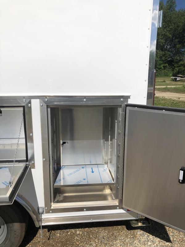 2021 Formula Trailers 8.5x16 contractors Enclosed Cargo Trailer