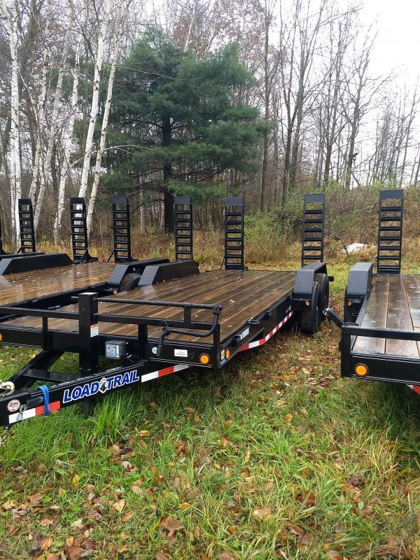 New 20' 14k Load Trail Equipment Trailer Michigan's #1 Selling Brand Of Trailers