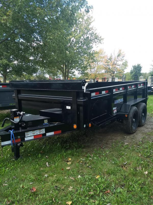 New 16' Load Trail Dump Trailer