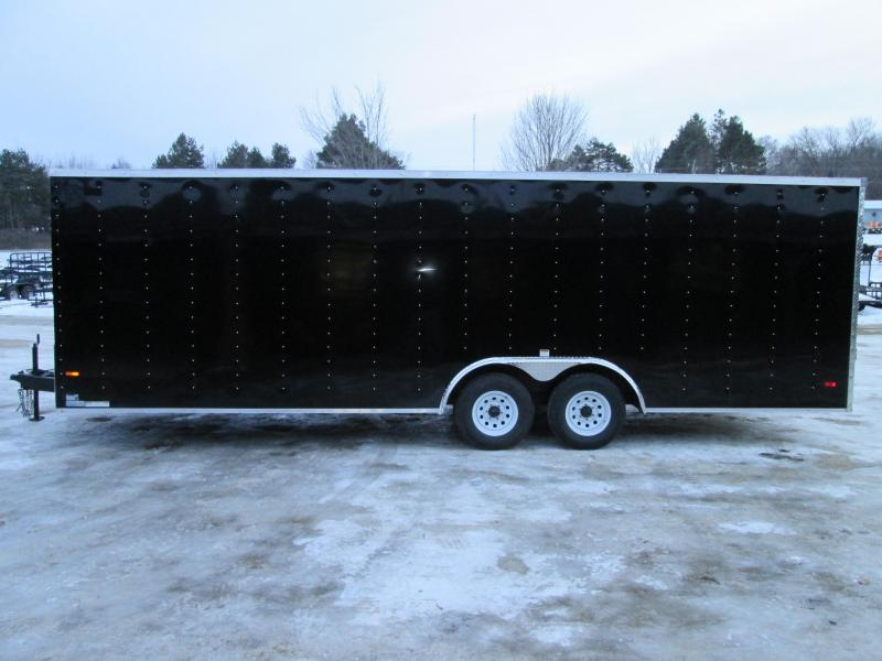 2021 MTI Trailers 8.5 x 24 10K 7' interior Enclosed