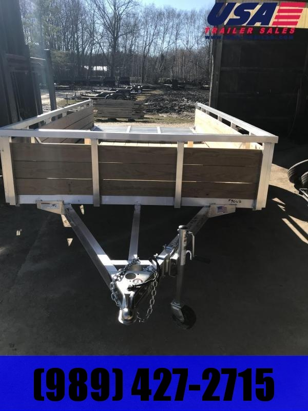 """2020 H and H Trailer 82"""" x 12' Utility Trailer"""