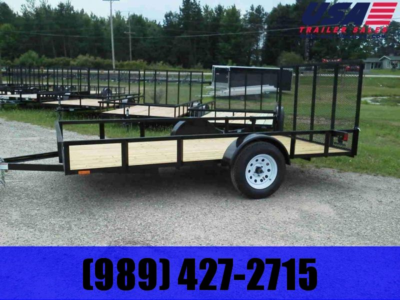 2021 AMO 6x12 low side Utility Trailer