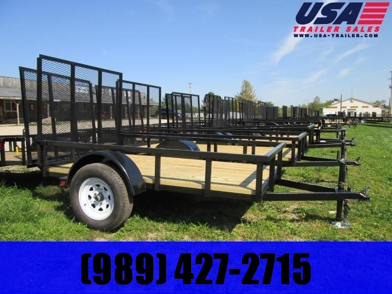 2021 Gold Star 5x8 Low Side Utility Trailer