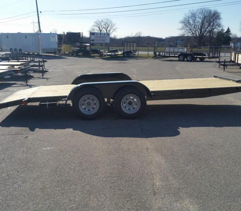 18' A.M.O. Car Hauler Trailer TA