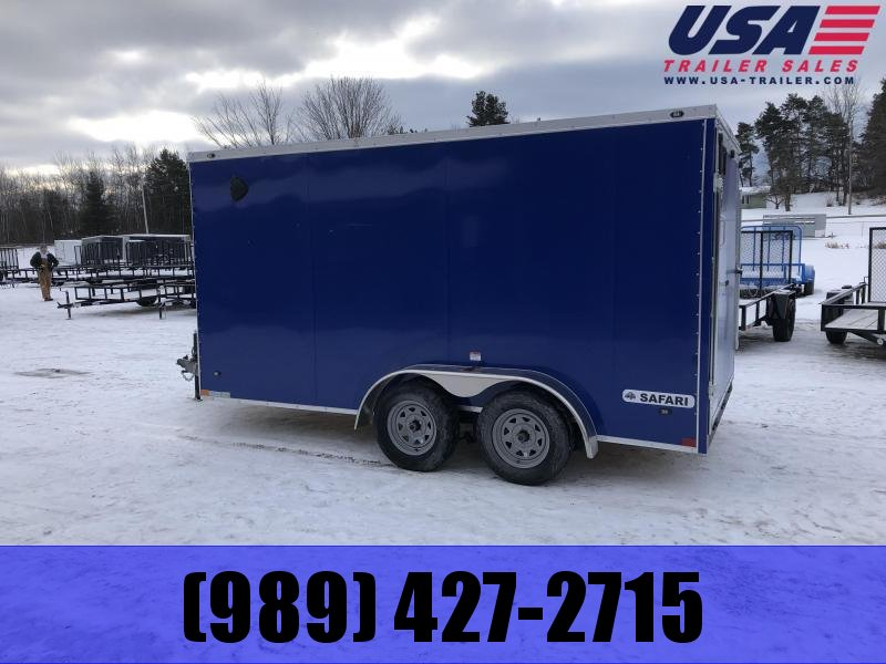 "2021 Rhino Trailers SAFARI 7X14 78"" Enclosed"