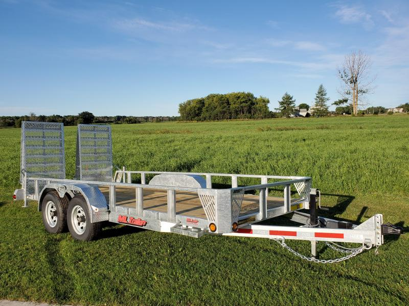 2021 20' Ultimate 5 Ton Landscape/Equipment Trailer