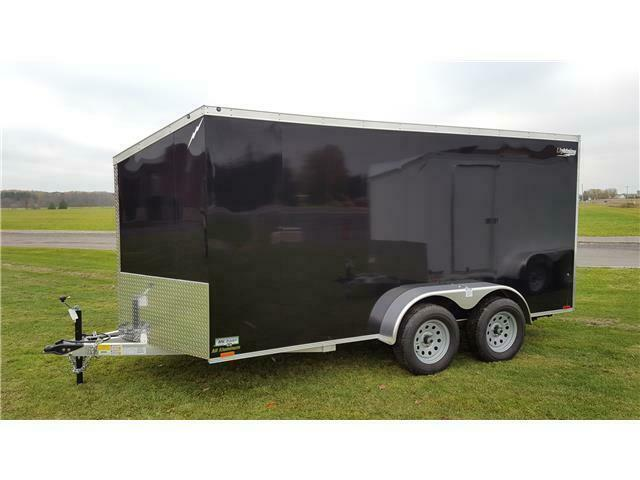 2021 Lightning 7' x 14' All Aluminum Enclosed Cargo Trailer
