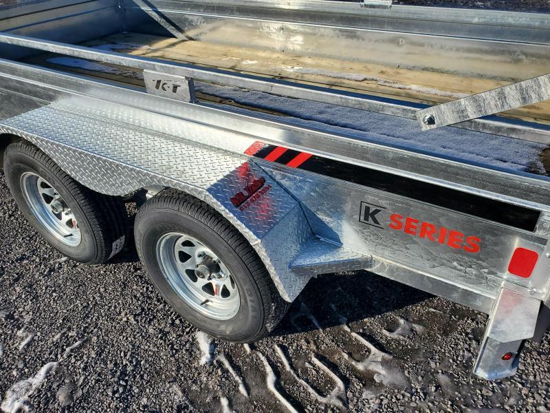 2021 K Trail 72144-T-EB Utility Trailer