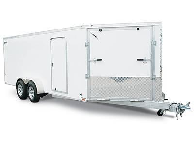 2022 Lightning Trailers 7'x23' Inline Snowmobile Trailer