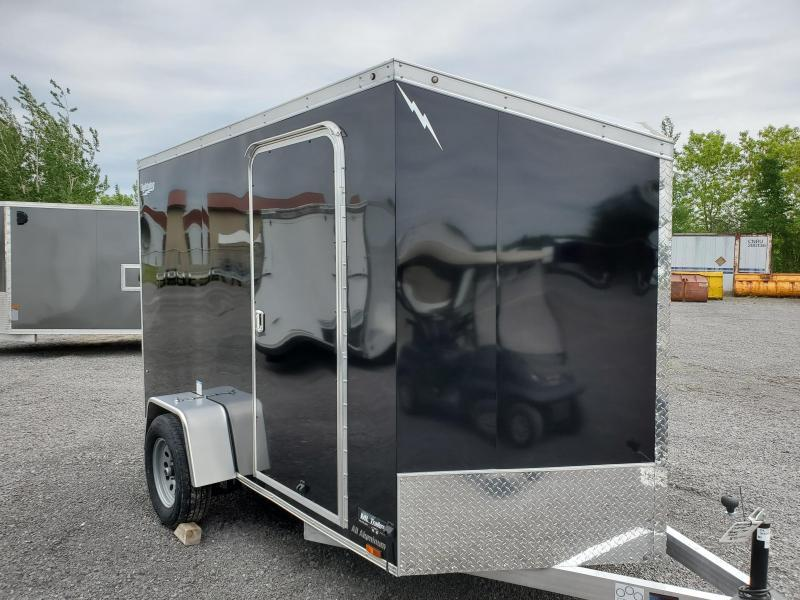 2021 Lightning Trailers 6'x12' All Aluminum Enclosed Cargo Trailer