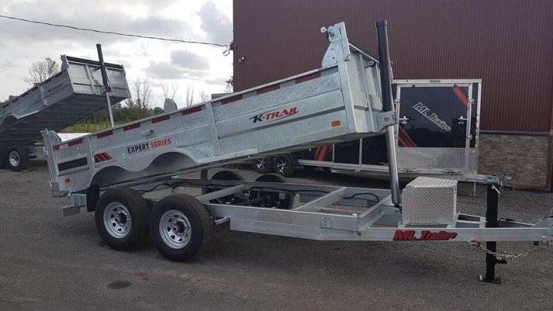 2021 K Trail 7 x 14 HD Expert Series 7 Ton Dump Trailer