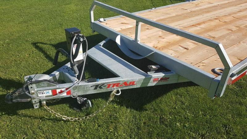 2021 K Trail 20' 14000LBS Car Hauler / Equipment Trailer