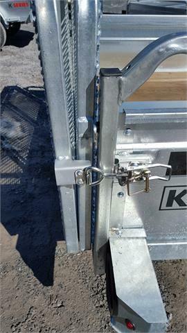 2022 K Trail 5.5 x 10 Tandem Axle Galvanized Trailer