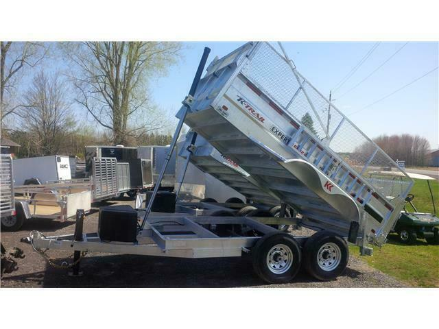 2021 K Trail 7 x 12 HD Expert Series 14K Dump Trailer