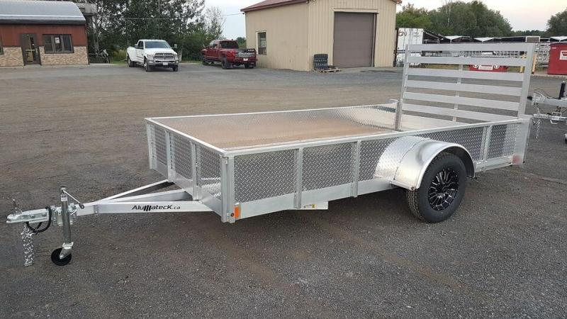 2021 All Aluminum 6 x 12 Fully Loaded Utility Trailer