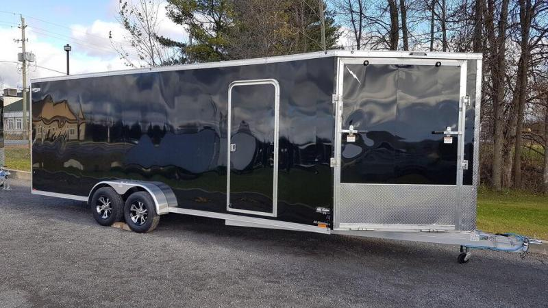 2022 Lightning 7 x 27 (7' High) All Aluminum Snowmobile Trailer
