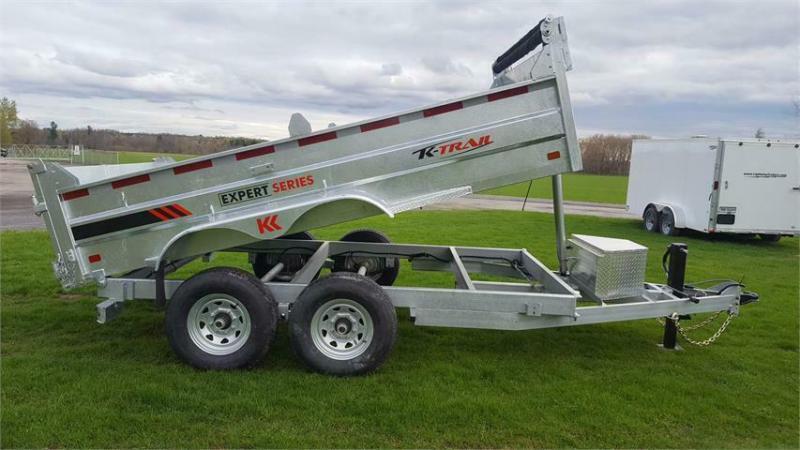 2021 K Trail 7 x 12 Expert Series 7 Ton Dump Trailer