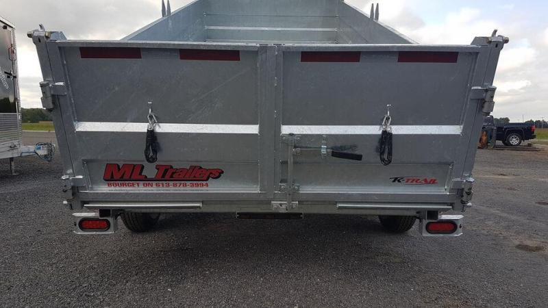 2021 K Trail 7 x 16 HD Expert Series 10.5 Ton Dump Trailer