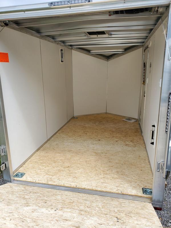 2021 Lightning Trailers 6'x10' All Aluminum Enclosed Cargo Trailer
