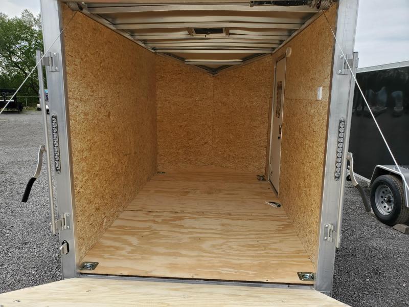 2022 Lightning Trailers 6'x12' All Aluminum Enclosed Cargo Trailer