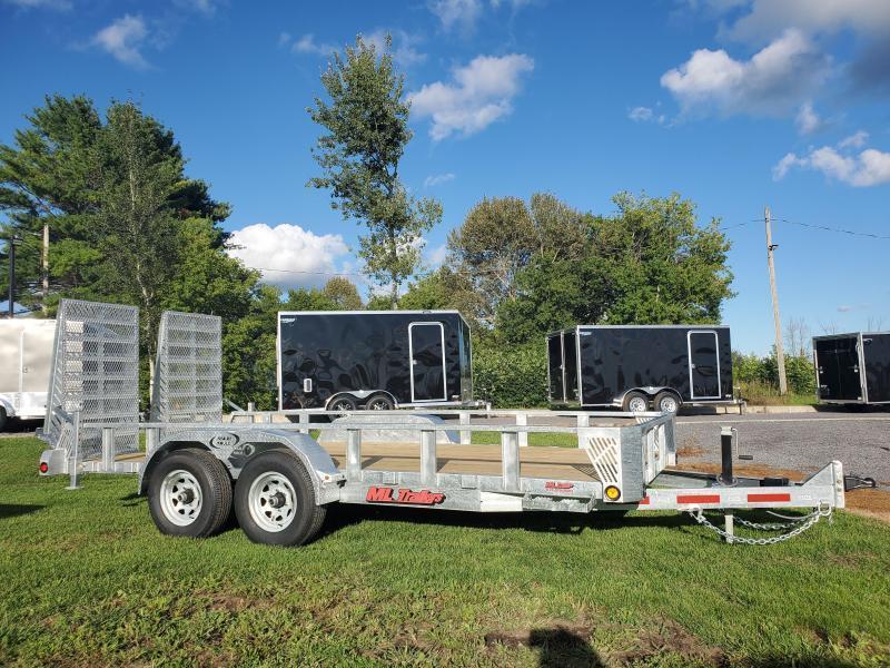 2021 Ultimate 16' 5 Ton Landscape/Equipment Trailer