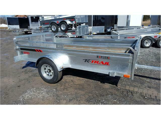 2021 K Trail 5.5 x 10 Galvanized Trailer
