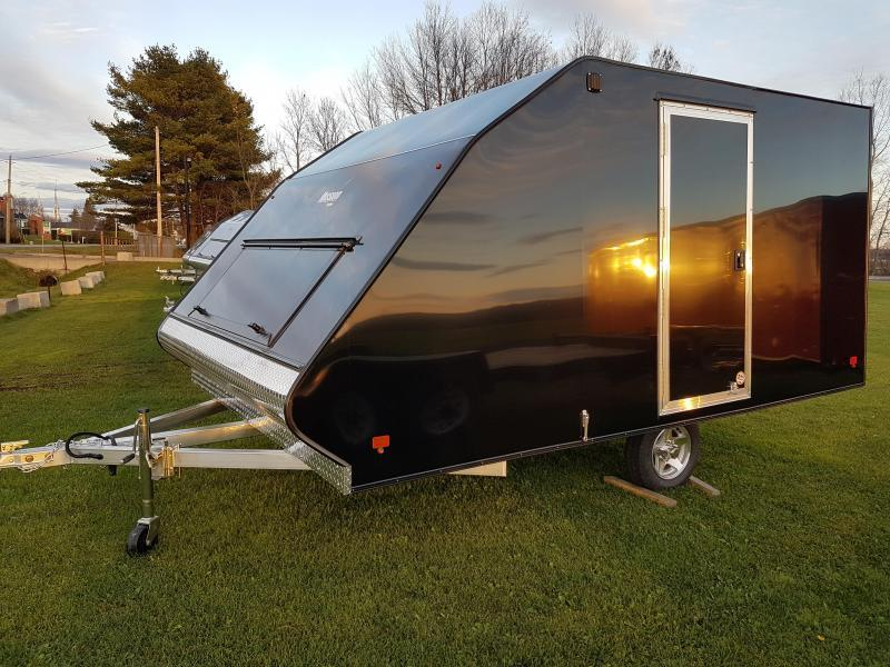 2021 Mission 12' Crossover Snowmobile Trailer