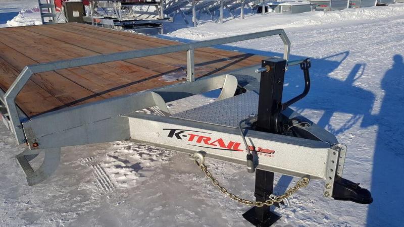 2021 K Trail 20'+3' 7 Ton Deckover Trailer