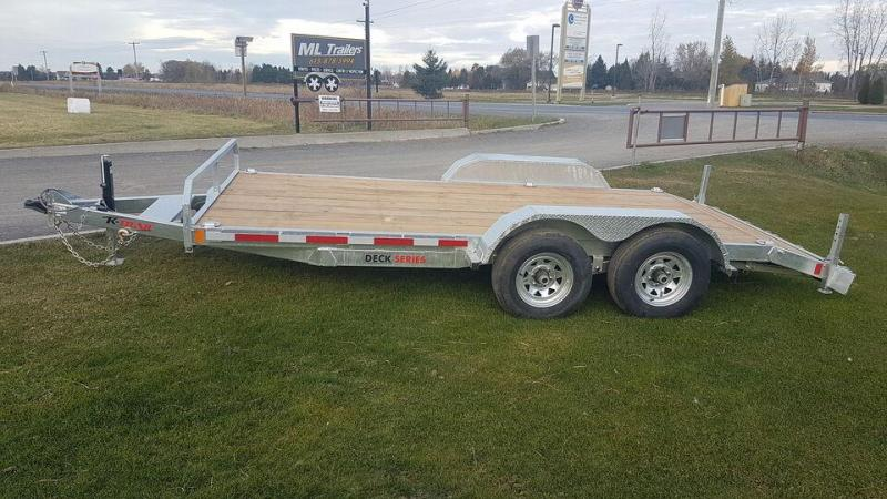 2021 K Trail 16' 5 Ton Car Hauler