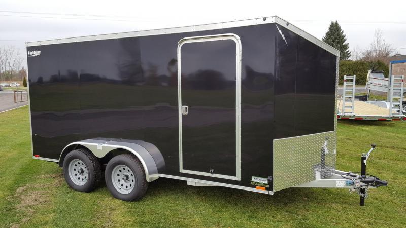 2022 Lightning Trailers 7'x16' All Aluminum Enclosed Cargo Trailer