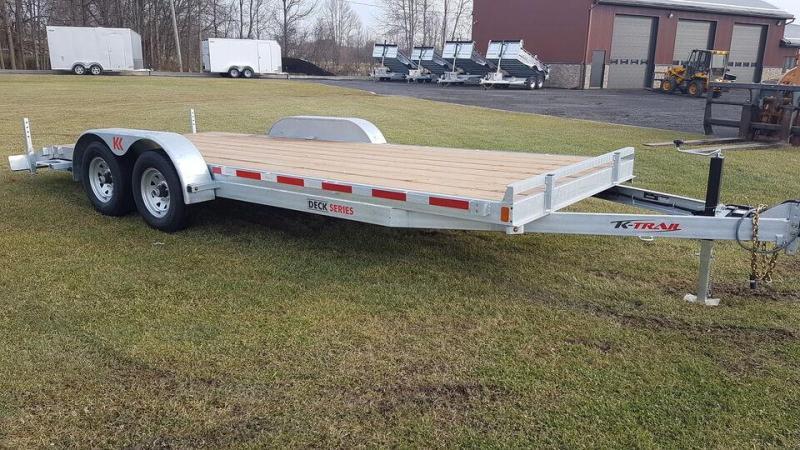 2021 K Trail CH20-10 5 Ton Car Hauler / Equipment Trailer
