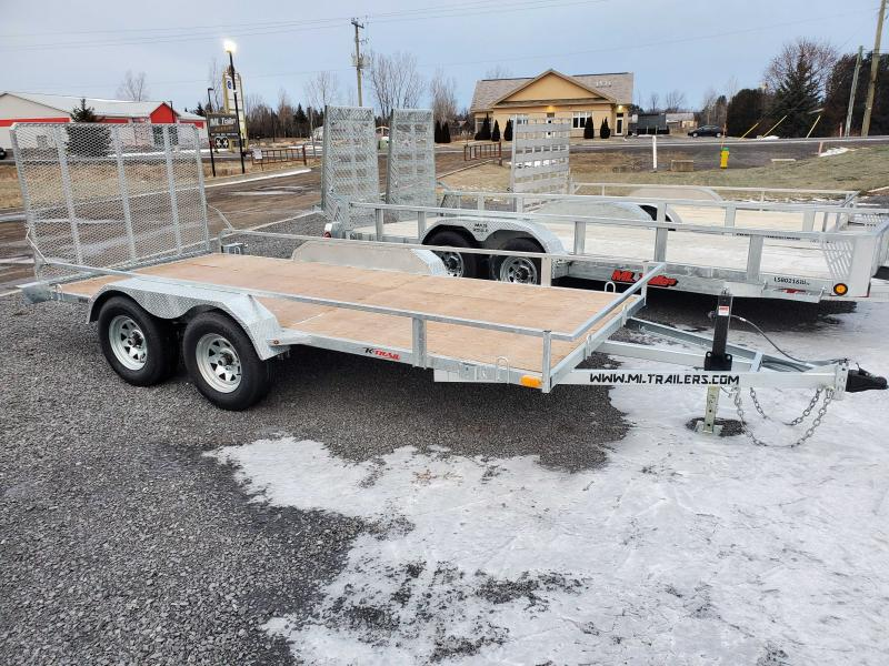 2021 K Trail 6'x14' Side X Side Trailer