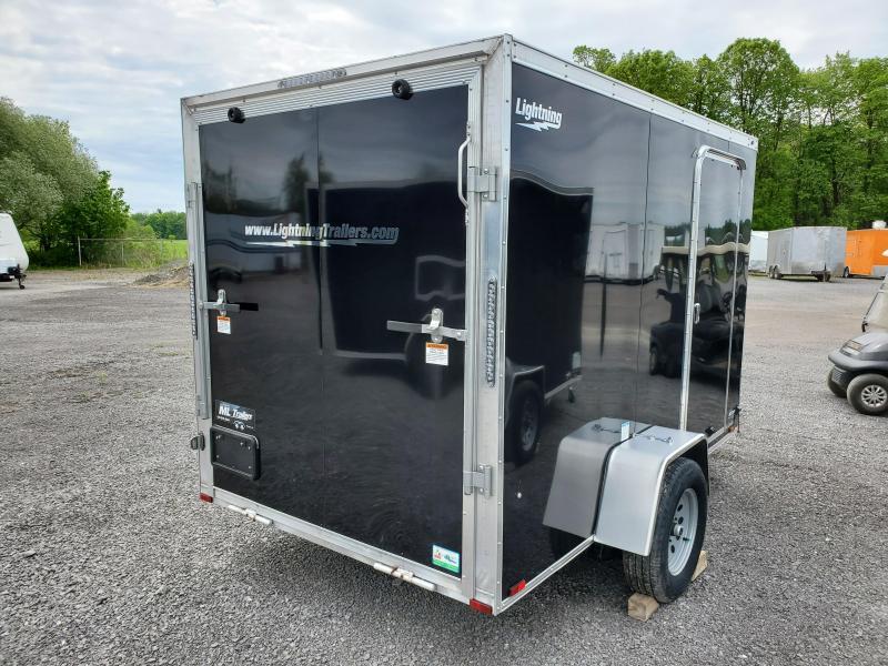 2021 Lightning Trailers 5'x10' SA-3500 Enclosed Cargo Trailer