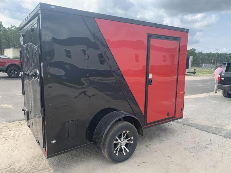 New 6x12 Red/Black Blackout Elite