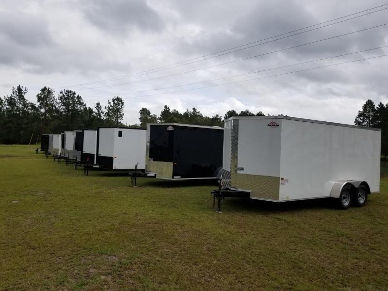 2019 6'x14' (HIGH SIDE) Utility Trailer
