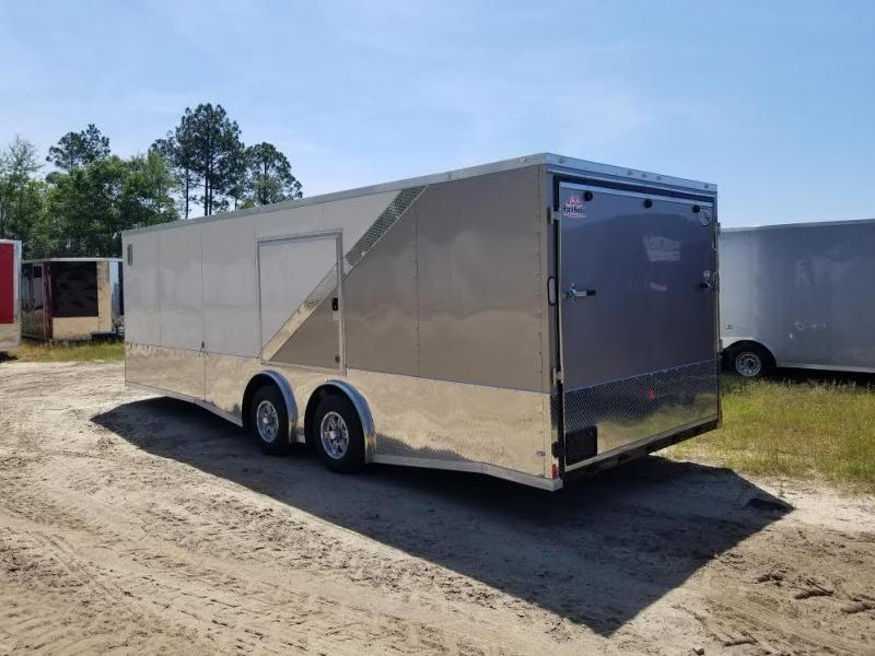 """New 8.5x24 Enclosed Cargo Trailer """"A Touch of Class"""""""