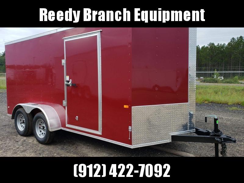 New 7x14 Brandy Wine Enclosed Cargo Trailer $3699