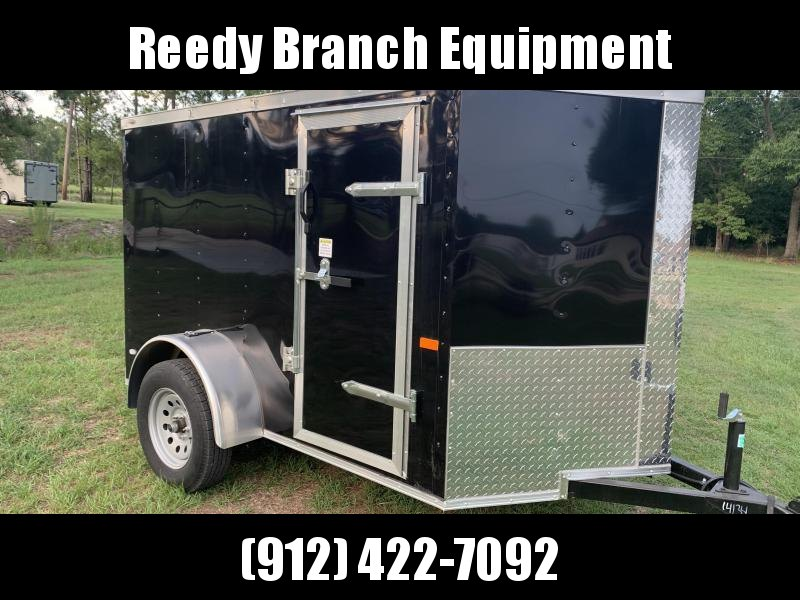 New 5x8 Black Enclosed Trailer. Keep your Tools Dry! Georgia Florida Alabama South Carolina