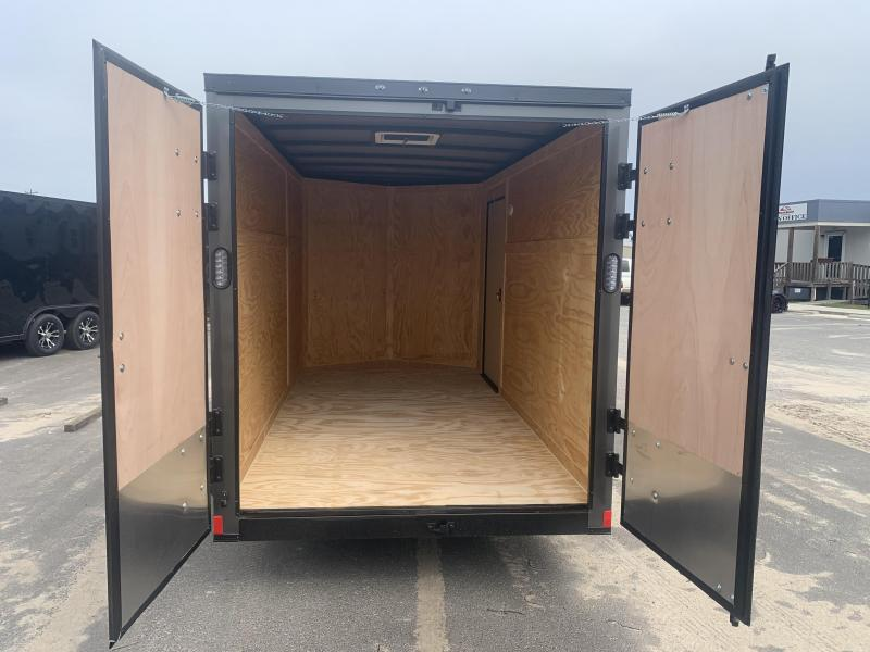6x12SA Barn Doors - 5200 lb - Enclosed Cargo Trailer HEAVY DUTY
