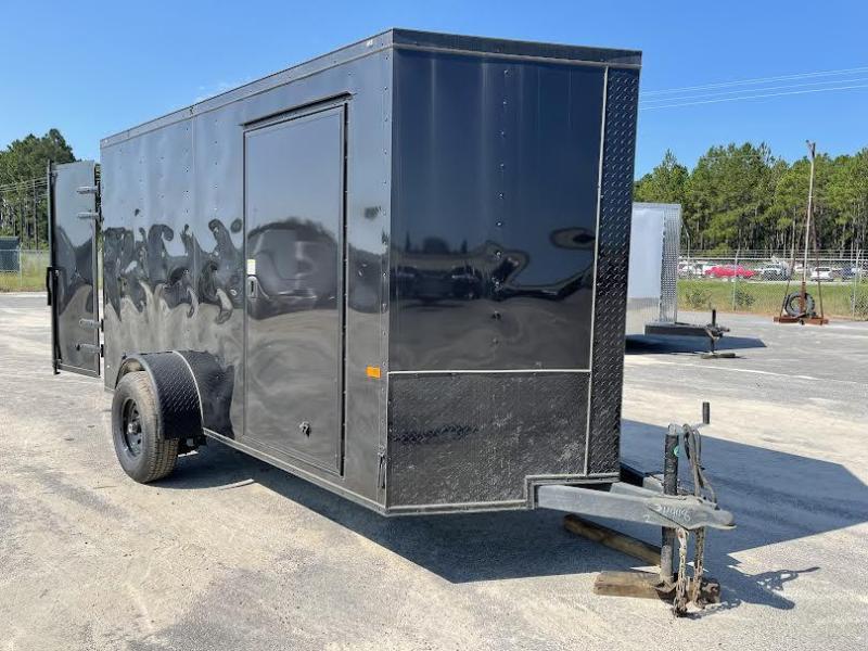 6x12SA Barn Doors - 5200 lb -Construction Trailer - Enclosed Cargo Trailer