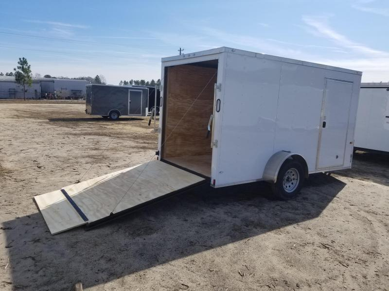 New 6x12 Single Axle Rock Solid Cargo Trailer