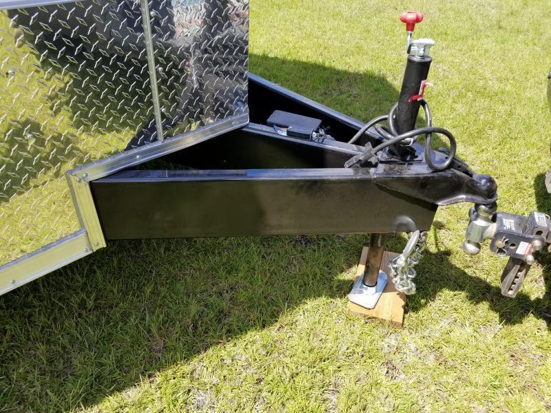 New 8.5x28' Enclosed Car Hauler (14K GVWR)  Rock Solid Cargo
