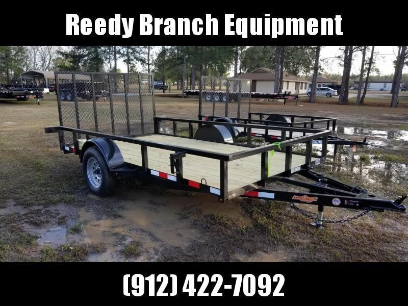 "New (76""X12') Down 2 Earth Utility Trailer"